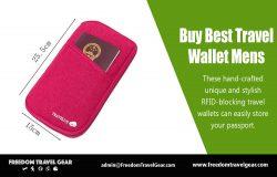 Buy Best Travel Wallet Mens | https://www.freedomtravelgear.com/