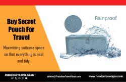 Buy secret pouch for travel | https://www.freedomtravelgear.com/