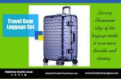 Travel Gear Luggage Set | https://www.freedomtravelgear.com/