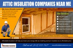 Attic Insulation Companies Near Me | affordableinsulationmn.com