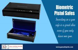 Biometric Pistol Safes