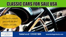 classic car buyers