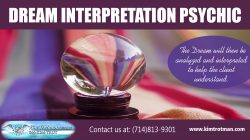 dream interpretation psychic