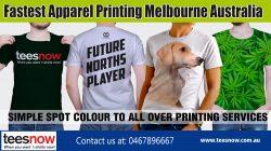 Fastest Apparel Printing Melbourne Australia|https://www.teesnow.com.au/