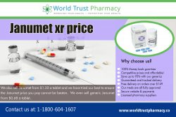Janumet XR Price | worldtrustpharmacy.co