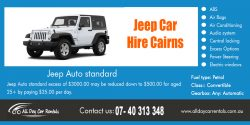 Jeep Car Hire Cairns