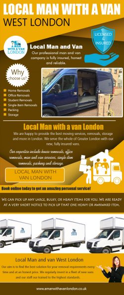 Local Man with a van West London|https://www.amanwithavanlondon.co.uk/