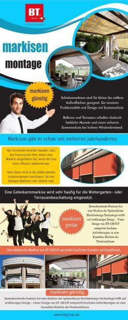 Markisen Günstig | btgroup.de