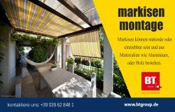 Markisen Montage | btgroup.de