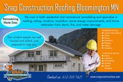 Snap Construction roofing bloomington mn