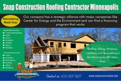 Snap Construction roofing contractor minneapolis