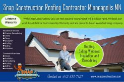 Snap Construction roofing contractor minneapolis mn