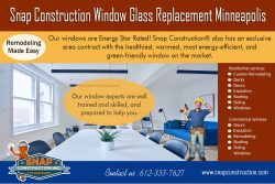 Snap Construction window glass replacement minneapolis