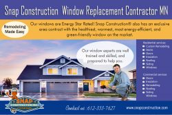 Snap Construction Window Replacement Contractor mn