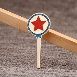 Lapel pins of Magic wand award