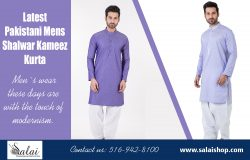 Latest Pakistani Mens Shalwar Kameez Kurta | salaishop.com