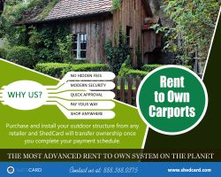 Rent to Own Carports Near My Area | 888.368.0375 | shedcard.com
